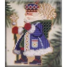 Набор для вышивания Mill Hill  Морозный Санта (MHWS8)