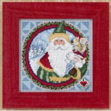 Набор для вышивания Mill Hill Дед Мороз (JS149204)