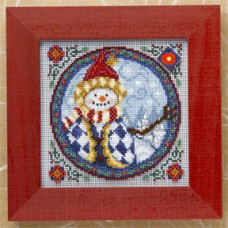Набор для вышивания Mill Hill Западный снеговик (JS149104)