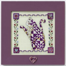 Набор Petunia-Quilted Cats, Jim Shore (JS148403)