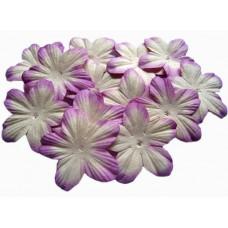 Бумажные цветы Фиолетовые (P20-6)