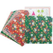 Цветная бумага для оригами Yasutomo Folk Art, 16 шт. (4304)
