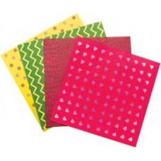 Бумага для оригами, Dinosaur Shapes, 18 шт. (29 3)