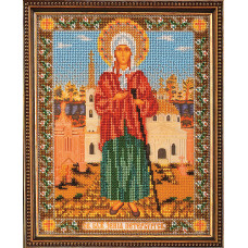 Набор для вышивания бисером Икона Ксения Петербургская (В-176)