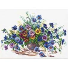 Набор для вышивания крестиком Чудесная игла Цветы  лета (40-11)