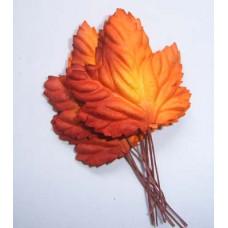 Листья Кленовые багряно-рыжие (LO-710)
