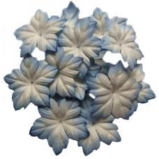Бумажные цветы Бело-голубые (P40-423)