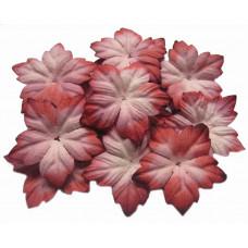 Бумажные цветы Красно-белые (P40-4)