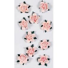 Бумажные розы, Розовые (13109/417.021)