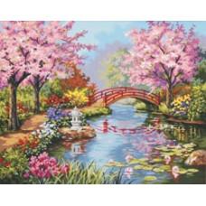 Японский сад (91415)