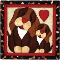"""Набор """"Пэчворк без иголки"""" Puppy Love (QM110)"""