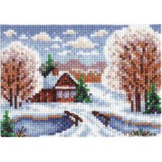 Избушка в снегу (ПС-1092)*