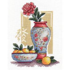 Набор для вышивания крестом Panna Процветание (И-1124)