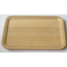 Блюдо прямоугольное деревянное (ольха) (ДМ-Z.T-16х24)