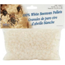 Пчелиный воск в гранулах, белый (110017)