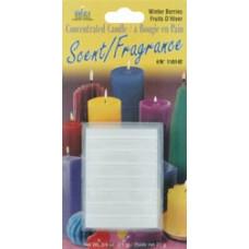 Концентрированный аромат для свечей в блоках, Winter Berries-Balsam, Woods, Spice, Musk (110000S-142)