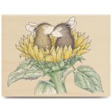 Резиновый штамп Sunflower Smooch! (HMOR-1005)