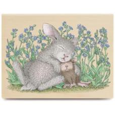 Резиновый штамп Snuggle Bunny (HMOR-1102)
