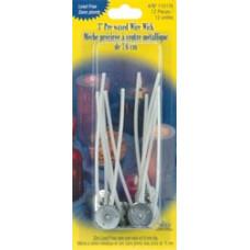 Фитиль для свечей покрытый воском, c основанием 15 мм (110176)