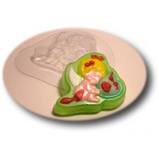 Форма для мыла Ангелочек с сердцем