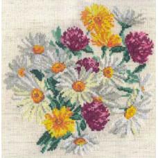 Набор для вышивания крестиком Чудесная игла Ромашки (40-17)