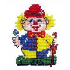 Набор для вышивания крестиком Чудесная игла Клоун (10-07)