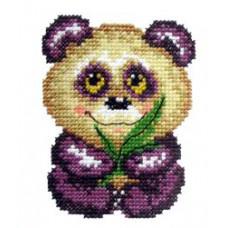 Набор для вышивания крестиком Чудесная игла Панда (17-04)