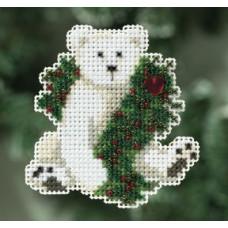Набор MillHill, Hoilday Polar Bear (MH180306)