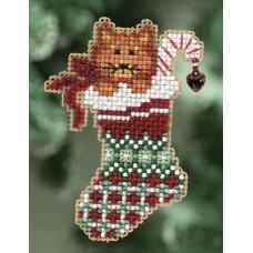 Набор MillHill, Kittys Stocking (MH180301)