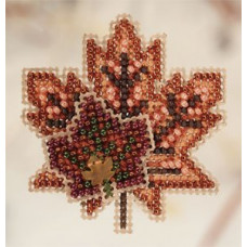 Набор для вышивания Mill Hill Кленовый листок (MH180202)