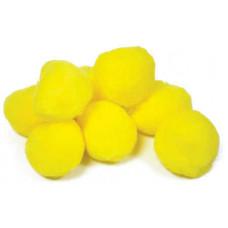 Помпоны Желтые (10176-34)