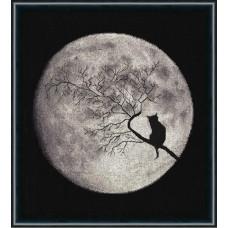 Набор для вышивания крестиком Золотое руно Лунная соната (С-009)