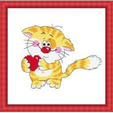 Набор для вышивания крестиком Сделано с любовью Моему котенку (ШМ-009)