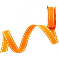Лента со строчкой, оранжевый (887117)