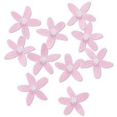 Бумажные цветы Jolees By You, розовые (55779)