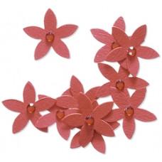 Бумажные цветы Jolees By You, красный (55811)