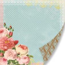 Лист бумаги 30х30 Love Blooms (SW1212-381) (053)