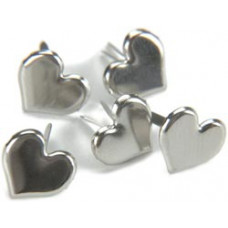 Брадсы Сердечки серебрянные (CI92003)