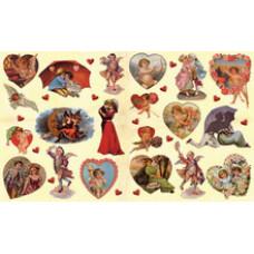 Бумага для декупажа LOVE (KR-B8010)