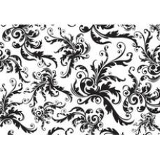 Бумага для декупажа Черное и белое барокко (KR-B8144)