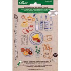 Кухонные узоры для вышивки (CL-8821)