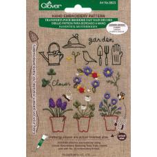 Садовые узоры для вышивки (CL-8823)