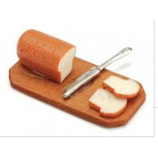 Миниатюрные хлеб, нож и досточка (2306-26)