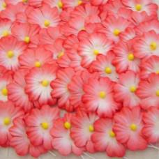 Бумажные цветы, красные (NF-00019)