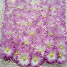 Бумажные цветы, фиолетовые (NF-00024)