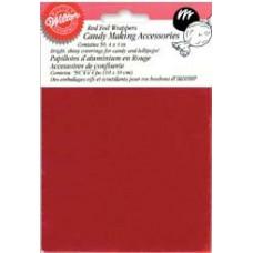 Фантики для конфет и леденцов, красные (W1904S-1198)