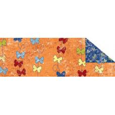 Калька Парадис, оранжевый, мотив Бабочки (UR-77224605R)
