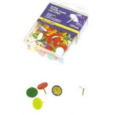 Кнопки цветные с пластиковым покрытием (BM5176)