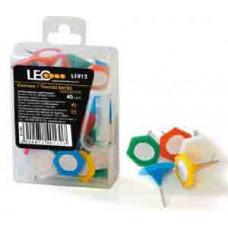 Кнопки-гвоздики шестигранные (L1912 LEO)