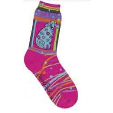 Носочки Laurel Burch, Matisse-Magenta (SOCKS-1043)